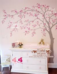 Decals For Walls Nursery Cherry Blossom Wall Decal Wall Decals By Cuma Wall Decals On Zibbet