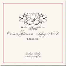 winter wedding programs program cover clipart