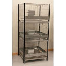 Stackable Rabbit Hutches Stacking Cages 30 X 30 X 30