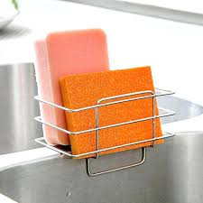 kitchen cabinet sponge holder kitchen cabinet sponge holder kitchen sponge storage solution light