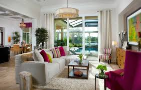 Contemporary Interiors Colors Of Nature Contemporary Interiors With A Dash Of Fuchsia