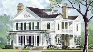 southern house plan historic southern home plans homes floor plans
