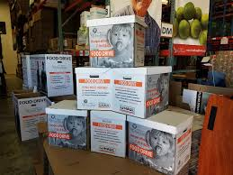 u haul gives back through food drive financial support for st