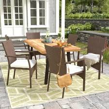 high top patio table and chairs patio dining sets styles for your home joss main