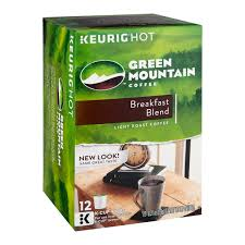 light roast k cups green mountain breakfast blend light roast k cup packs arabica