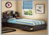twin beds with bookcase headboard interior design ideas cannbe com