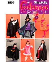 Childrens Halloween Costume Patterns Simplicity Pattern Halloween Costume Vampire Witch Bo