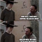 Rick Grimes Crying Meme - rick and carl longer blank meme template imgflip