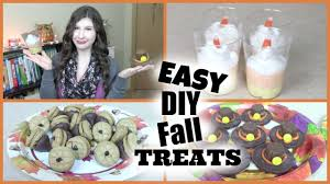 thanksgiving treats for kids to make easy diy fall thanksgiving treats youtube