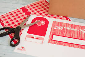 free printable valentine mailbox project nursery