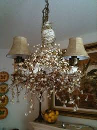 Chandelier Makeover The Bliss Journey No Cost Chandelier Makeover