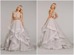 2 wedding dresses bridal dresses ideas in two pieces trendy mods