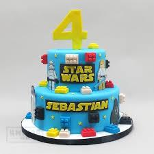 starwars cakes lego wars empire cake