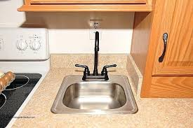 rv kitchen sink replacement rv kitchen sinks and faucets bathroom sink faucet awesome
