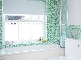 bathroom 85 bathroom colour schemes modern green and white tiled