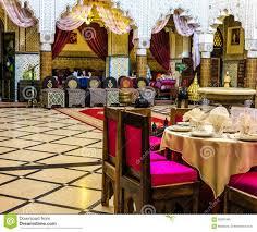 salle a manger marocaine salle à manger dans un palais marocain antique à rabat image