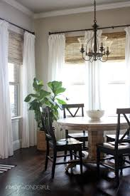 Curtains Kitchen Window by 25 Best Rustic Curtains Ideas On Pinterest Rustic Living Room