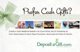 wedding registry charity wedding registries with deposit a gift rock n roll