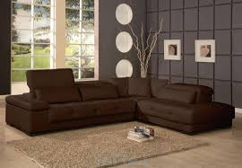 shabby chic small room design dark leather costco sectional cozy