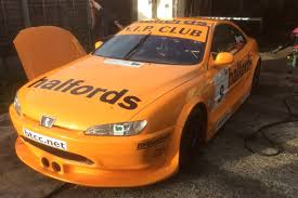 peugeot yellow racecarsdirect com peugeot 406 coupe touring car
