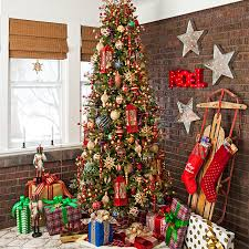 christmas tree decorating classic christmas tree decorating ideas 8285