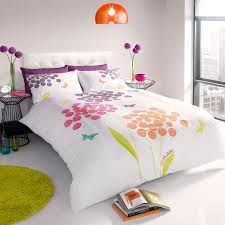 zandra rhodes bedding floral butterfly multi coloured king size