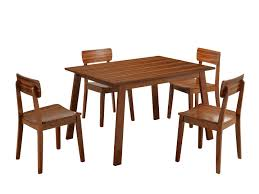 Patio Furniture Dining Sets - boraam zebra series hagen dining table walnut walmart com