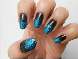 easy nail art glitter nail art designs 2014 ideas images tutorial step by step flowers