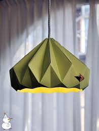 Origami Light Fixture Origami Lampshade U2013 Instructions For Diy Enthusiasts Interior