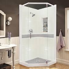 chelsea sistine stone neo angle shower kit u2013 american bath factory