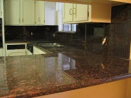 kitchen granite backsplash modern kitchen with brown granite countertops smith design