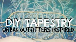 Cute Wall Tapestry Diy Tapestry Urban Outfitters Inspired Youtube