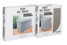 Tidy King Bed With Storage by Tidy Sit U0026 Store Large Grey Ireland