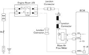 air flow maf sensor circuit diagram