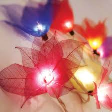 String Of Flower Lights by Flower String Lights Partylights