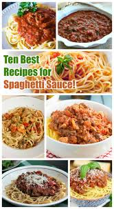 homemade spaghetti sauce recipes