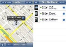 find my iphone from android track a cell phone location for free with a app