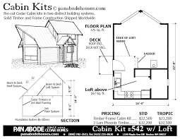 Cabin Plans For Sale Seasonal Cedar Log Timber Cabin And Tiny House Kits By Pan Abode