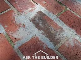 Pointing Patio How To Remove Brick Mortar Ask The Builderask The Builder