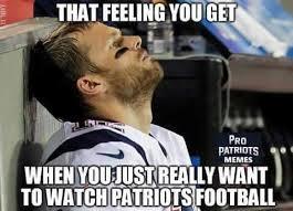 Football Season Meme - is it football season yet football memes pinterest patriots