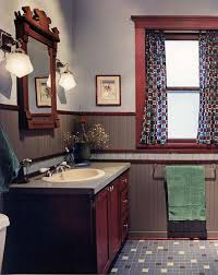 bathrooms with character arts u0026 crafts homes and the revival
