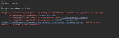 java how do i reorder characters in a string without the use of