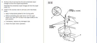 2003 honda accord wiper motor how do i replace the wiper motor on a 2003 honda accord it