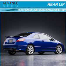 2007 honda civic si coupe kits for 06 11 honda civic coupe 2 door hfp style pu poly urethane rear