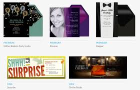 free evite templates 5 online invitation makers to create invites free freemake