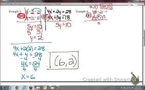 lesson 7 2 solving systems of equations using elimination with addition and subtraction