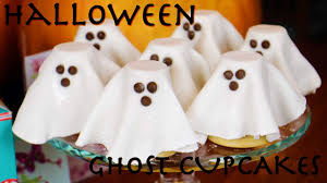 Halloween Cupcakes Ghost Halloween Ghost Cupcakes Youtube