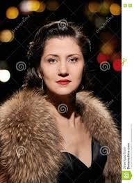 glamorous lady portrait stock photo image 74116502