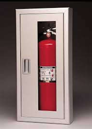 semi recessed fire extinguisher cabinet triangle fire inc fire extinguisher cabinets larsen s 2409 5r