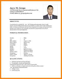 sample resume for ojt marketing student esl essay writing ppt